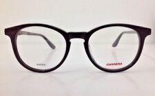 Carrera Lunettes Noir blanc Plastique Ronde Homme Femme 6636
