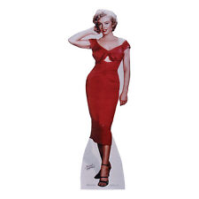 "MARILYN MONROE ""NIAGARA"" Red Dress Lifesize CARDBOARD CUTOUT Standup Standee F/S"
