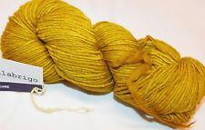FRANK OCHER Yellow 100gr 210yd Skein Malabrigo WORSTED Merino Wool x-SOFT YARN