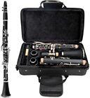 New Glarry Bb Professional Clarinet w/ Case Manual & Accessories