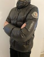 Moncler Everest Down Brown Puffer Winter Hooded Quilted Jacket 2 Small / Medium