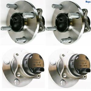 MR2 Spyder Wheel Bearing and Hub Assemblies OEM 4355017010 - Koyo Japan (2 set)