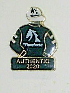 2020 - AUTHENTIC - Kentucky Derby Jockey Silks Pin