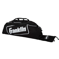 "Franklin Sports Junior Black Equipment Bag 34""x 9"" x 6"""