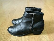 New Look Ladies Ankle Boots Black Size 5 / 38