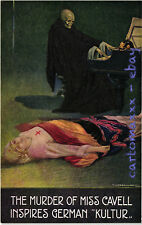 "WW1 WWI Propaganda - Corbella - Serie ""Miss Cavell"" - 6 Postcards - SV26"