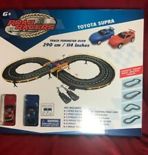 Grandex 61627M  Battery Operated Race Track Toyota Supra Toy Car