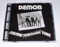 "DEMOB ""CRIME THROUGH TIME"" CD New Sealed 32 Track Discography.UK,punk,Oi,kbd,mdc"