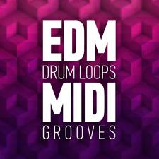 EDM Drum Loops MIDI Grooves / 5000 Loops / House Techno Trance Rap Dance Music