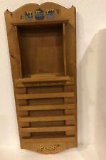 Winnie the Pooh Wood Display Holder 4 Bradford Exchange Perpetual Calendar Plate