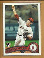 Tyler Chatwood RC 2011 Topps Update Series Rookie Card # US184 Angels Baseball