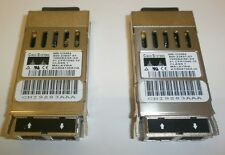 Cisco ws-g5484 2 unidades gbic fiber módulo 1000 Base-SX 850nm refurbished