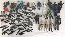 Huge Action Figure Lot STAR WARS Clone Storm Troopers HALO + Accessories Loose