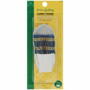 Dritz 3066 Leather Thimble Quilting Sewing