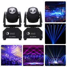 2X 50W DMX RGBW LED DJ Moving Head Bühnenbeleuchtung Strahl Spotlight Party Show