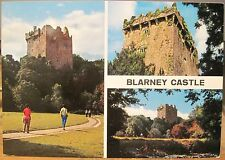 Irish Postcard BLARNEY CASTLE County Cork Multiview Ireland John Hinde 2/198 4x6
