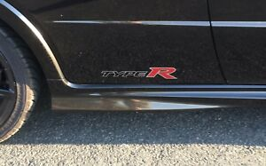 Honda Civic Type R Reproduction Decals Stickers Vinyl. A Quality non OEM Decal