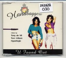 The handbaggers MAXI-CD u found out-German 6-track incl. Depeche Mode riff