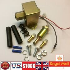 Inline Filter Fuel Pump Universal Petrol Diesel Engine 12V Electric pump HRF-013