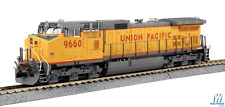 Kato HO GE C44-9W - DCC - Union Pacific 9660 (Armour Yellow, gray, red)