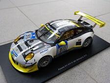 Porsche 911 991 GT3 R 24h Nürburgring 2016 Manthey #911 Modèle de voiture 1:18