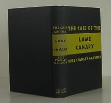 ERLE STANLEY GARDNER The Case of the Lame Canary INSCRIBED REPRINT