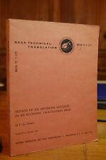 Motion of Artificial Satellite in Eccentric Gravitation Field Demin NASA 1970