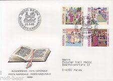 Schweiz Nr. 1393-96  FDC  Pro Patria