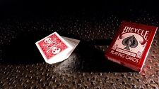 Bicycle Skull and Bone Deck - Red - Playing Cards - Magic Tricks - New