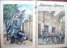 60) 1931 NUOVA STAZIONE DI MILANO E INCIDENTE A PADOVA DOMENICA DEL CORRIERE
