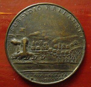 1744 Prague Retaken Battle Medal RARE Variant