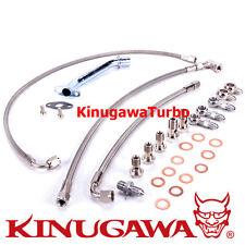 kinugawa Turbo Instalación kit / Aceite & Agua Línea SAAB 9000 aero- 2.3l TD04HL