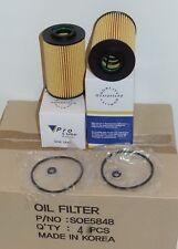 4 Engine Oil Filter SOE5848 Made in Korea Fits: HYUNDAI & KIA