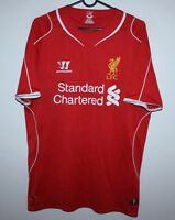 Liverpool England home shirt 14/15 - size M