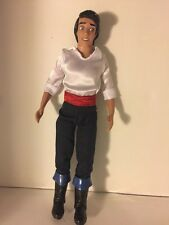 """Little Mermaid PRINCE ERIC  12"""" Doll, Used, Good condition, no accessories."""