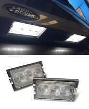RANGE ROVER SPORT NEW LED LICENSE NUMBER PLATE LAMP LIGHTS & BULBS X2 (2005-13)