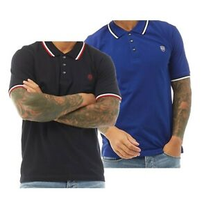 Mens 883 Police Cotton Everyday Top Short Sleeve Pique Polo Sizes from S to XXL