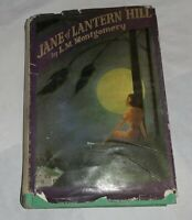 Jane of Lantern Hill L.M. Montgomery Frederick A. Stokes 1937 1st Ed. Rare w/ DJ