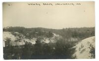 RPPC Waverly Beach CHESTERTON IN Indiana Real Photo Postcard