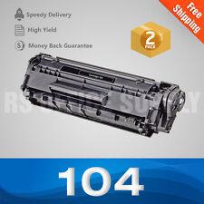 2PACK CRG 104 Toner For CANON 104 ImageClass MF4350D MF4150 D420 Faxphone L90