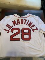 Majestic MLB Boston Red Sox JD Martinez CoolBase White Home Team Jersey Size XXL