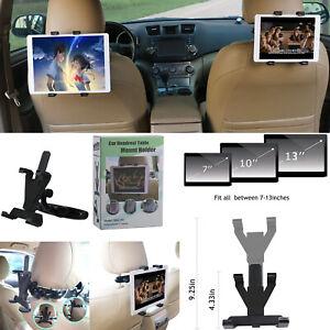 Universal Tablet Headrest Mount Holder Car / Jeep Back seat For ACER DELL Google