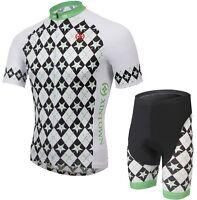 2016 Sport Cycling Bike Clothing Bicycle Jersey + (Bib) Shorts  Short Sleeve
