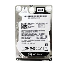 Disque Dur 160Go SATA 2.5 Western Digital Black WD1600BEKT 7200rpm 8Mo