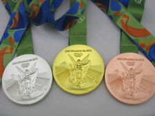 2016 Brazil Rio Olympic Gold/Silver/Bronze Medals Party Games Full Set of 3 UK