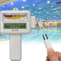 Portable Digital Water Quality Tester PH CL2 Chlorine Level Meter Test  ☆  * *