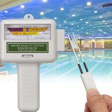 Numérique Portable qualité de l'eau Testeur PH CL2 chlore Level Meter Test Monitor
