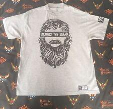 "Daniel Bryan ""Respect the Beard"" WWE Authentic T-Shirt XL YES"