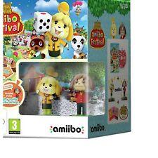 Animal Crossing amiibo Festival Nintendo Wii U Game 3+ Years