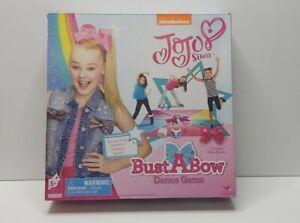 Jojo Siwa Bust A Bow Dance Game Nickelodeon In Box